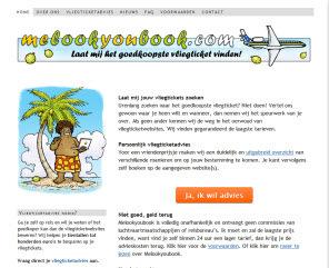 Via de website Melookyoubook garandeerden we reizigers de goedkoopste vliegtickets voor hen te vinden.