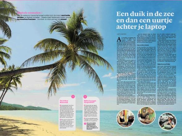 Vandaag staat Werkenvanuithetbuitenland.nl in NRC Next. Journaliste Lisette Wouters wist een leuk artikel over digitale nomaden aan de hipste krant van Nederland te verkopen.