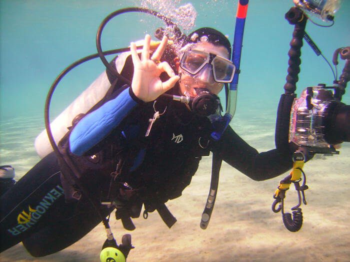 WVB Mirjam Under Water