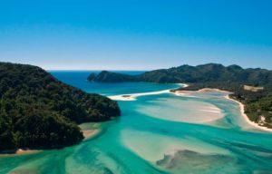 abel tasman nationaal park nieuwzeeland