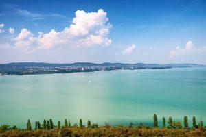 balatonmeer in hongarije