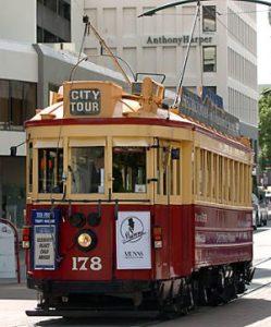 tram bezienswaardigheden christchurch
