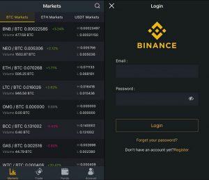 binance app